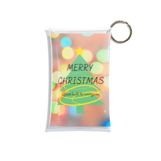 メリークリスマス! Mini Clear Multipurpose Case