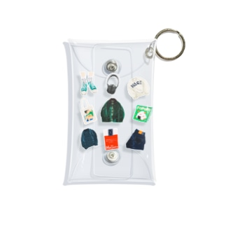 city boys Mini Clear Multipurpose Case