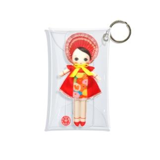 文化人形 宙ちゃん Mini Clear Multipurpose Case