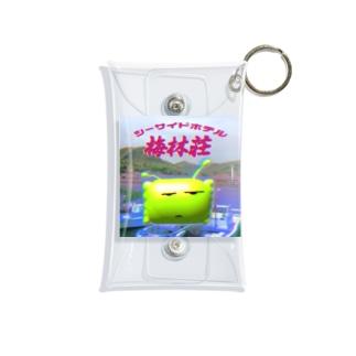青リンゴ星人 Mini Clear Multipurpose Case