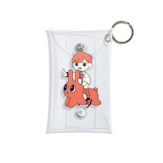 GOGOさんぼんげ Mini Clear Multipurpose Case
