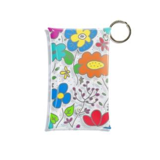 自然の中のお花たち Mini Clear Multipurpose Case