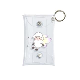 妖精ひつじちゃん Mini Clear Multipurpose Case