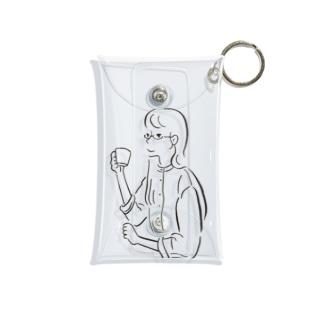 ティータイム Mini Clear Multipurpose Case