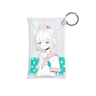 イチゴミルク Mini Clear Multipurpose Case