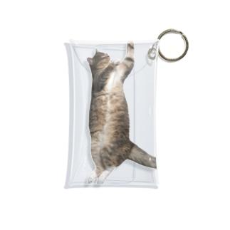 パピコ(盆踊りのすがた) Mini Clear Multipurpose Case
