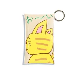 おーい 猫 Mini Clear Multipurpose Case