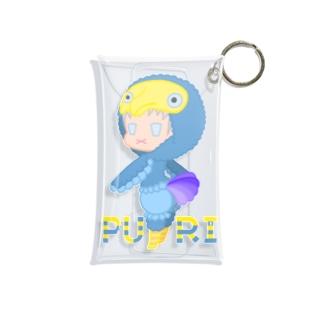 ぷり☆ドードーちゃん Mini Clear Multipurpose Case