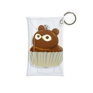 たぬきケーキ Mini Clear Multipurpose Case