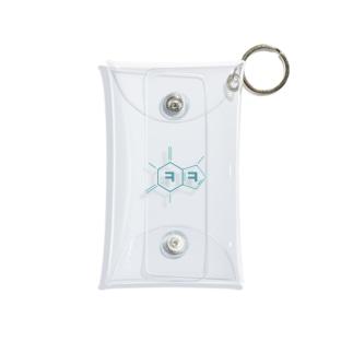 카페인 컨트롤 元素記号 カフェインコントロール Mini Clear Multipurpose Case