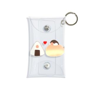 お文鳥&おにぎり(シナモンver.) Mini Clear Multipurpose Case