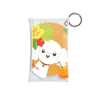 LEAちゃん(ブラウン) Mini Clear Multipurpose Case