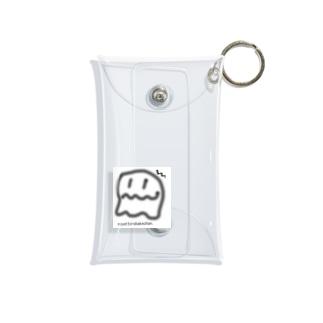 モヤっとオバケチャン👻 Mini Clear Multipurpose Case