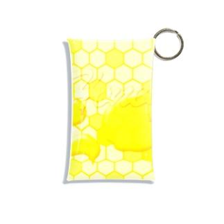 Honey!ミツバチハニー Mini Clear Multipurpose Case