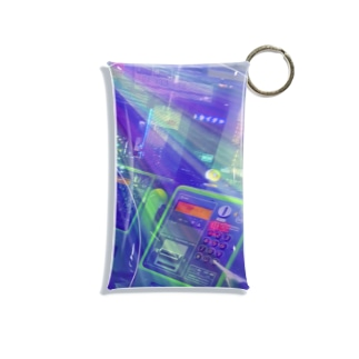 無限電話BOX Mini Clear Multipurpose Case