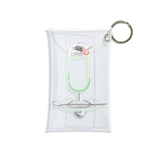 クリームソーダ(もじ) Mini Clear Multipurpose Case