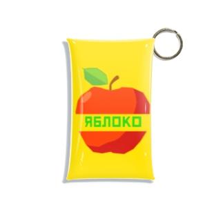リンゴ Mini Clear Multipurpose Case