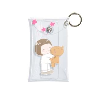 ずっと一緒!トコちゃんとクマさん Mini Clear Multipurpose Case