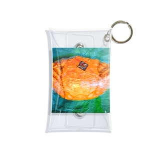 momo_emiのカニ Mini Clear Multipurpose Case