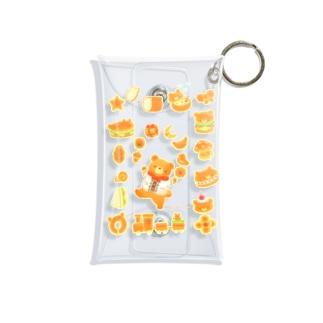 ふわふわパン Mini Clear Multipurpose Case
