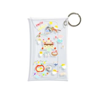 お出かけバナバニー🐎🏰 Mini Clear Multipurpose Case