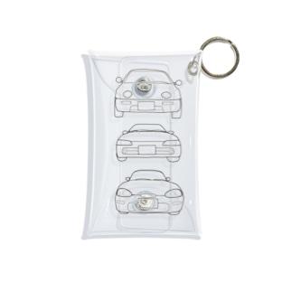 A.B.C  K-car Mini Clear Multipurpose Case