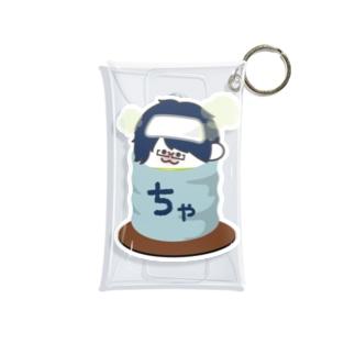 ミニやち茶 Mini Clear Multipurpose Case