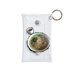 三輪にゅうめん Mini Clear Multipurpose Case