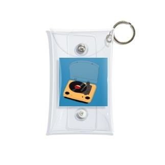 憧れのレコード Mini Clear Multipurpose Case