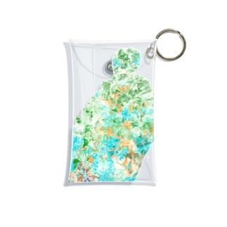 ひかりの庭 Mini Clear Multipurpose Case