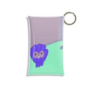 貝のプール入り口 Mini Clear Multipurpose Case