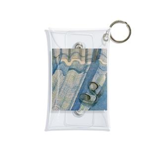 昼下がりと青 Mini Clear Multipurpose Case