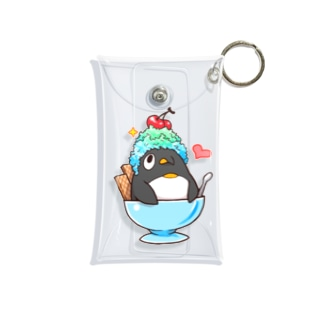 超シャーベットペンギン Mini Clear Multipurpose Case