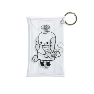 パン屋 Mini Clear Multipurpose Case