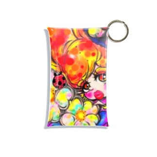 妖艶な女 Mini Clear Multipurpose Case