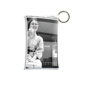 足湯と麦酒 Mini Clear Multipurpose Case