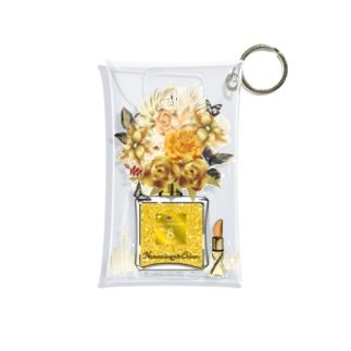 アンドアイデザイン 数秘&カラー🄬オマージュボトルNo8&GOLD Mini Clear Multipurpose Case