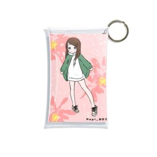 まこちゃん(ハッピー)のオリジナル サブカル女子 Mini Clear Multipurpose Case