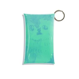 実家犬buru- Mini Clear Multipurpose Case