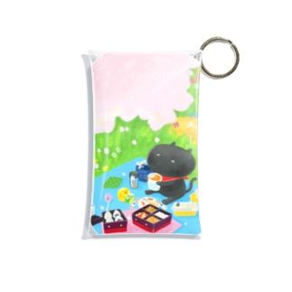 sagaoujiのおはなみピクニック Mini Clear Multipurpose Case