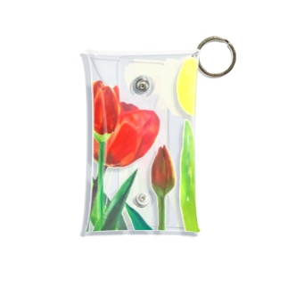 Tulips Mini Clear Multipurpose Case