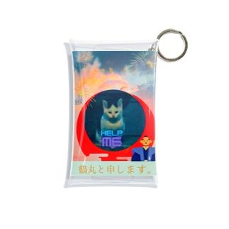 momo_emi 鶴丸(ちゅるまる)でございます。 Mini Clear Multipurpose Case