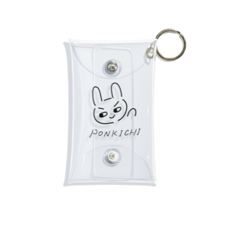 ネオぽんきち Mini Clear Multipurpose Case