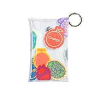 fruits Mini Clear Multipurpose Case