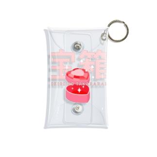 KOKORO NO TAKARABAKO_SKELETON Mini Clear Multipurpose Case