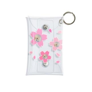 桜のピーちゃん Mini Clear Multipurpose Case