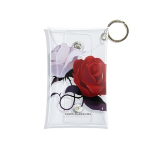roses Mini Clear Multipurpose Case