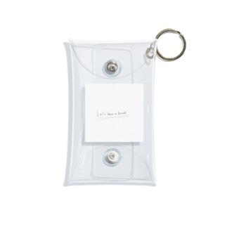 シンプル Mini Clear Multipurpose Case