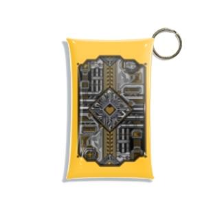 ドットCIRCUIT-001 HEART-KI Mini Clear Multipurpose Case
