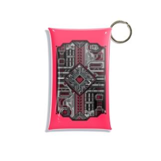 ドットCIRCUIT-001 HEART-MOMO Mini Clear Multipurpose Case